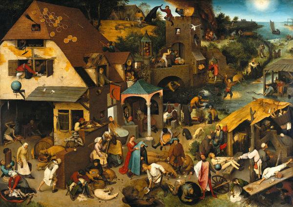 Pieter Brueghel - Bontour