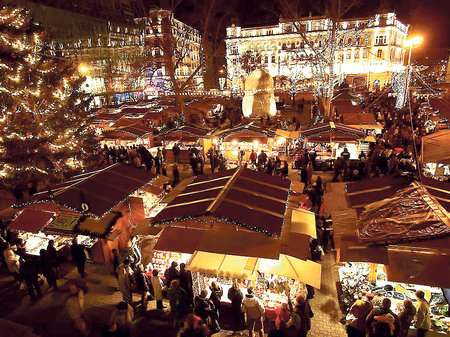 Adventní Budapešť