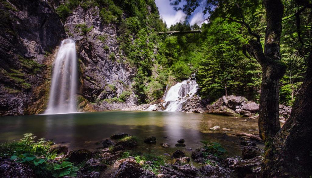 Vodopády nad řekou Salzou - Bontour