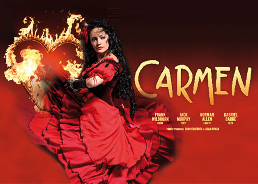 Muzikál Carmen - Bontour