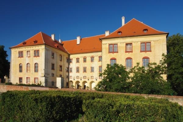Modrotisk Danzinger, zámek Kunštát, jeskyně Rudka