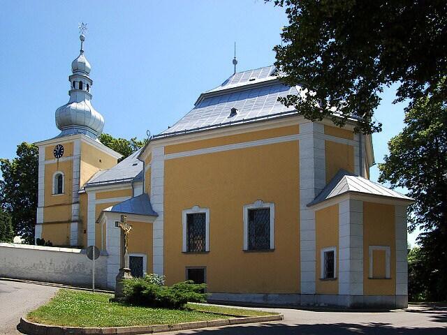 Santiniho chrám v Obyčtově - Bontour